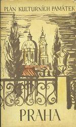 Praha Plan kulturnich pamatek