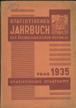 Statisisches Jahrbuch der Cechoslovakischen Republik