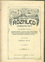Melisuv Rozhled zemedelsky  illustrovany casopis