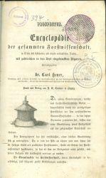 Encyclopadie der gesammten Forstwissenschaft  Vierter Band  Der Waldbau oder die Forstproductenzucht