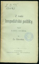 Ze Slezska  Z nasi hospodarske politiky VI