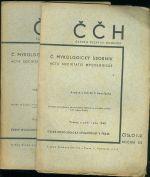CCH  C  mykologicky sbornik  Acta societatis Mycologicae roc  XX