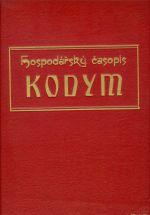 Hospodarsky casopis KODYM  roc  IX