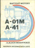 Naftove motory A  01M a A  41 a jejich modifikace