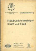 Mahdrushcnachreiniger K 522 und K523