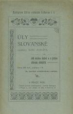 Uly slovanske soustavy farare Zuklina cili Jak mozno lacine a s jistym zdarem vcelarit