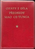 Citaty z dila predsedy Mao Cetunga
