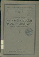O ceskych ovcich praehistorickych Kriticka studie osteologicka
