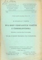 Dva rody cizopasnych vosicek z Ceskoslovenska
