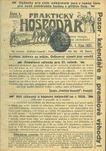 Prakticky hospodar  odborny casopis venovany zemedelstvi roc 21