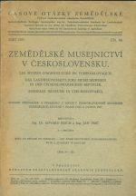 Zemedelske musejnictvi v Ceskoslovensku