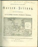 Allgemeine deutschen Garten  Zeitung