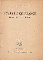 Analyticke reakce II reakce aniontu