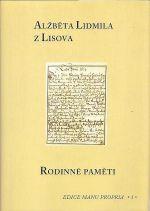 Alzbeta Lidmila z Lisova Rodinne pameti