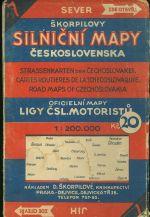 Skorpilovy silnicni mapy Ceskoslovenska  7