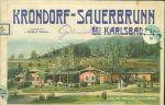 Krondorf  Sauerbrunn bei Karlsbad