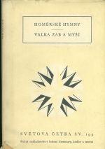 Homerske hymny  Valka zab a mysi
