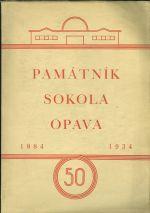 Pamatnik Sokola Opava 1884  1934