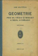 Geometrie pro VII tridu gymnasii a real gymnasii