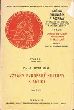 Vztahy evropske kultury k antice
