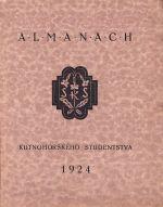 Almanach kutnohorskeho studenstva 1924