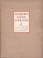 Osmero knih o Praze  Stavebnim a umeleckem vyvoji mesta