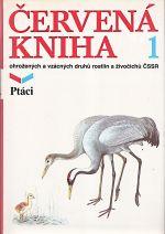 Cervena kniha ohrozenych a vzacnych druhu rostlin a zivocichu CSSR  1 Ptaci