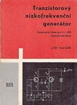 Tranzistorovy nizkofrekvencbi generator