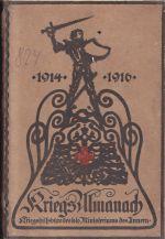 Kriegs Almanach 1914  1916