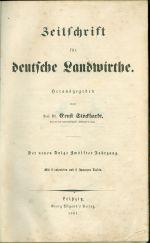 Zeitschrift fur Deutsche Landwirthe | antikvariat - detail knihy