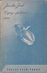 Dopisy z podzimu 1938