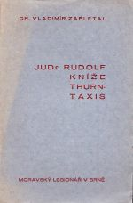 JUDr Rudolf knize ThurnTaxis