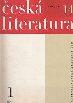 Ceska literatura  rocnik 14