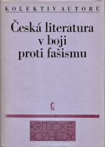 Ceska literatura v boji proti fasismu