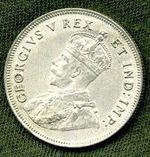 Vychodni Afrika George V 19101936 Schilling 1922