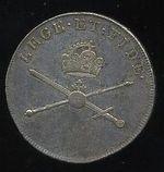 Korunov peniz Habsburci Frantisek II