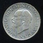 3 Marka 1914 D Bavorsko Ludwig III