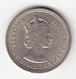 6 Pence 1953  Fiji  Elizabeth II