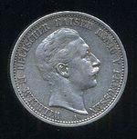 2 Marka 1906 A  Prusko  Wilhelm II