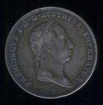 12 Scudo 1826 Rakouska Italie Frantisek II