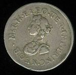 Korunov peniz  Eleonory Magdal Habsburci Leopold I