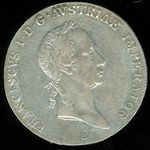 Tolar 1826 B Uhry Frantisek II