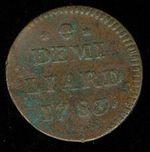 12 Liard 1783 pro Lucembursko