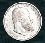 2 Marka 1902 F Wurttemberg Wilhelm II