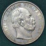 Spolkovy tolar 1871 A  vitezny  Prusko Wilhelm I