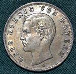 2 Marka 1904 D Bavorsko Otto