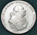 Tolar 1799 B Prusko FrVilhelm II