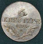 6 Krejcar 1795A