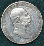 5 Koruna 1909  RakouskoUhersko Fr Josef I