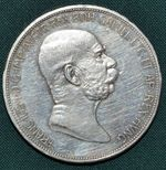 5 Koruna 1909